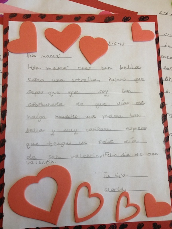 Valentines day letters by gray school students spiritdancerdesigns Images