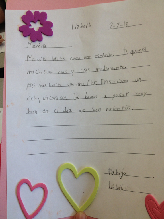 Valentine S Day Letters By Gray School Students